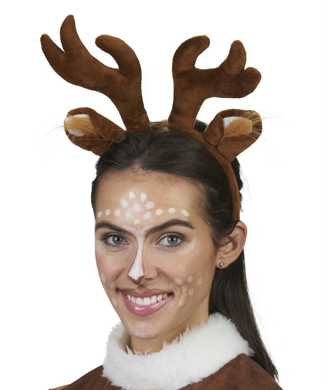 kost m accessoires rehhaarreif haarreif reh elch geweih weihnachten karneval kost me co. Black Bedroom Furniture Sets. Home Design Ideas