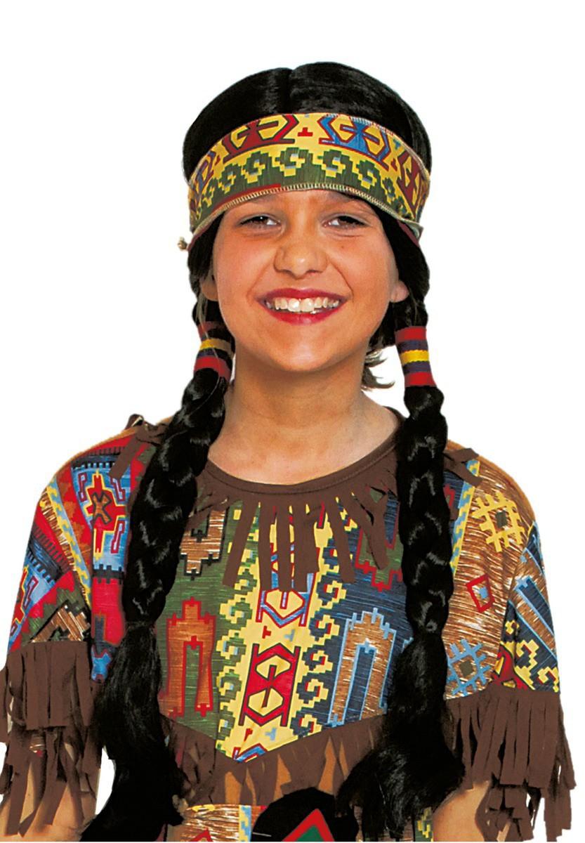 indianerper cke junge m dchen per cke indianerin karneval. Black Bedroom Furniture Sets. Home Design Ideas